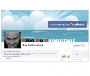 Le Blog du Consultant est sur Facebook