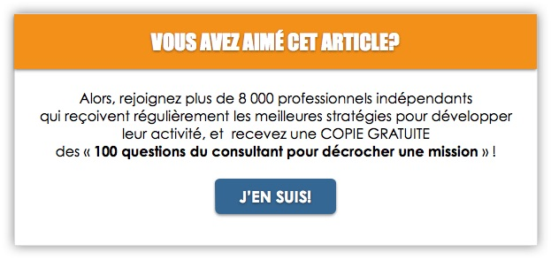 exemple facture consultant independant