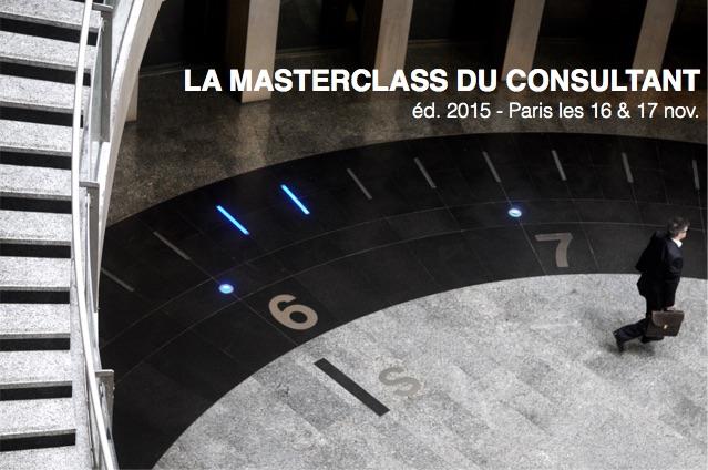 La Masterclass du Consultant ed 2015