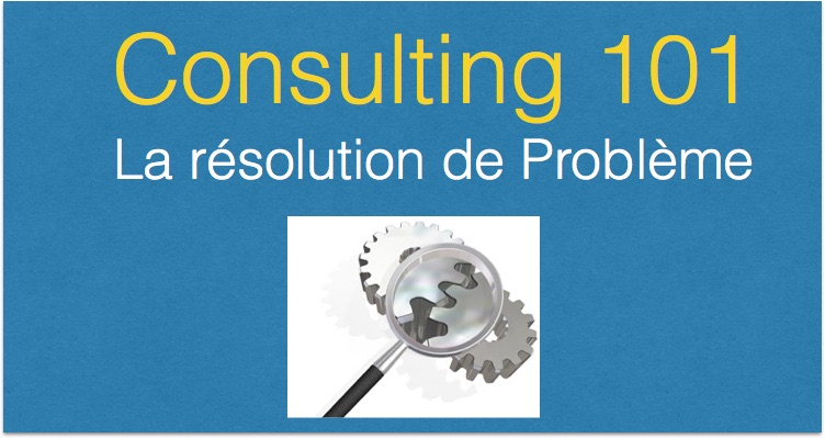La resolution de probleme